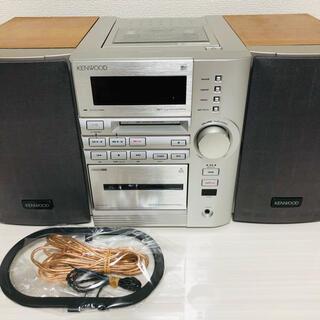 ケンウッド(KENWOOD)のKENWOOD RXD-SE5MD(S) CD/MD/TUNER/TAPE(スピーカー)