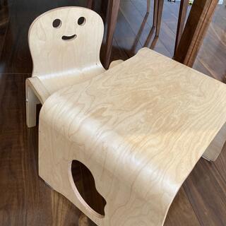 木こりの小イス きこりのイス テーブル セット(その他)