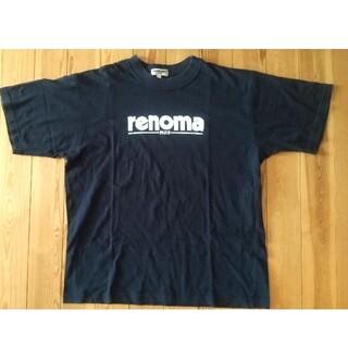 レノマ(RENOMA)のrenoma PARIS レノマパリス 半袖Tシャツ イタリア製 L(Tシャツ/カットソー(半袖/袖なし))