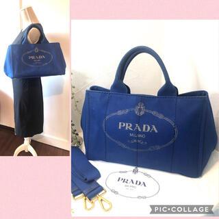 PRADA - 【美品❣️】プラダ PRADA カナパ トートバッグ 2way