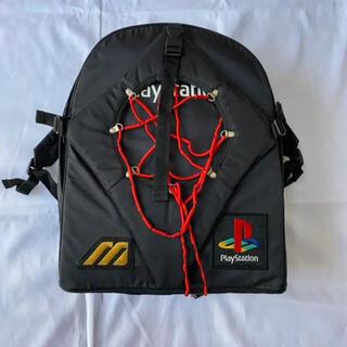プレイステーション(PlayStation)のレア ミズノ × PlayStation スゲーバッグ  ゲーム ストリート(バッグパック/リュック)