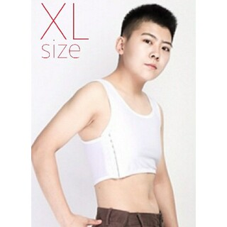 SALE 【XLサイズ 】ナベシャツハーフタイプ ホワイト コスプレ(コスプレ用インナー)