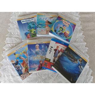 ディズニー(Disney)のお子様向け ディズニー作品その他 Blu-ray 7点セット(アニメ)