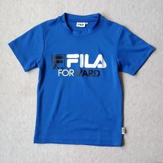 FILA - フィラ FILA  140センチ 青 サラサラ Tシャツ