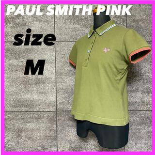 ポールスミス(Paul Smith)のPAUL SMITH  PINK ポールスミス ピンク ポロシャツ サイズM(ポロシャツ)