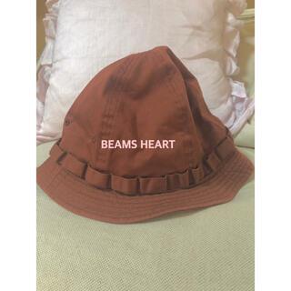 こども ビームス - beams heart  帽子 ハット 茶 59センチ