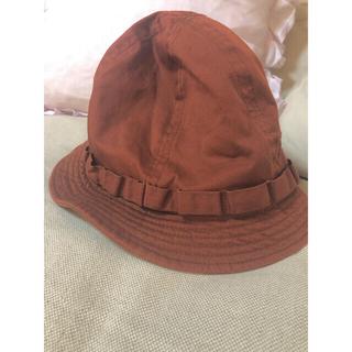 コドモビームス(こども ビームス)のbeams heart  帽子 ハット 茶 59センチ(ハット)