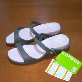 crocs - crocs サンダルサイズ7