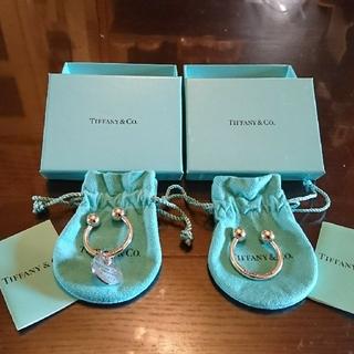 ティファニー(Tiffany & Co.)のTIFFANYキーリング2個セット(キーホルダー)