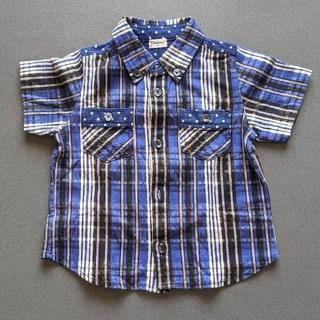 コンビミニ(Combi mini)のコンビミニ チェックシャツ(ブラウス)
