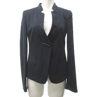 アルマーニ コレツィオーニ(ARMANI COLLEZIONI)のアルマーニ コレツィオーニ デザインジャケット ブレザー ヘリンボーン 紺 38(その他)