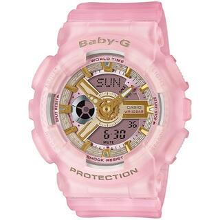 CASIO - BABY-G レディース腕時計 BA-110SC-4AJF ピンク ゴールド