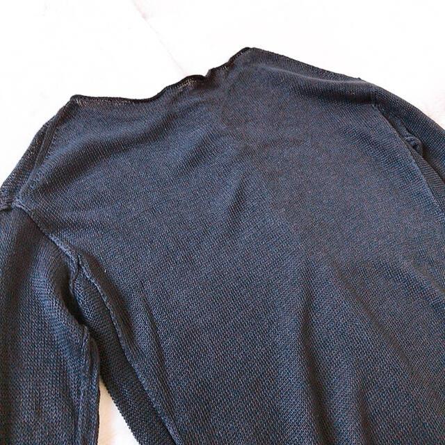 DEUXIEME CLASSE(ドゥーズィエムクラス)のDeuxieme Classe  アサ プルオーバー◆ブラック  レディースのトップス(ニット/セーター)の商品写真