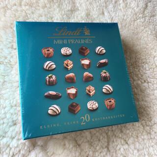 リンツ(Lindt)のリンツチョコレート!ミニプラリネ100g オレンジヘーゼルナッツピスタチオ(菓子/デザート)