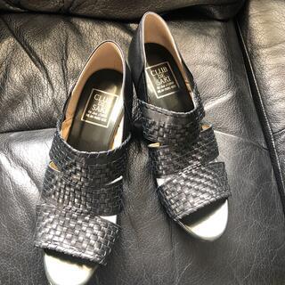 メッシュ夏用皮靴 新品未使用