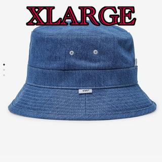 W)taps - wtaps 21ss bucket 01 hat cotton denim XL