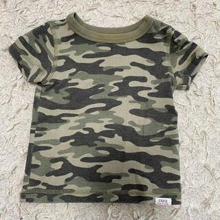 ニシマツヤ(西松屋)の迷彩Tシャツ80(Tシャツ)