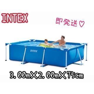 コストコ(コストコ)のインテックス INTEX 三メートル✕二メートル フタ付きフレームプール 即完売(その他)