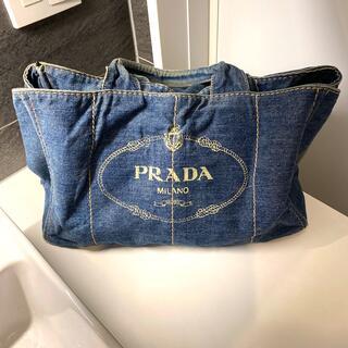 プラダ(PRADA)のPRADA♡カナパ♡デニム(トートバッグ)