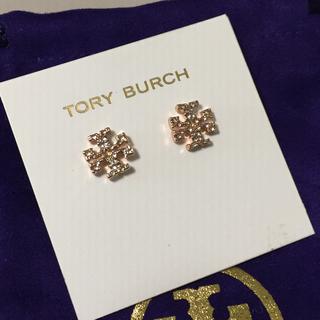 Tory Burch - トリーバーチ キラパヴェロゴスタッツピアス ToryBurch ピンクゴールド