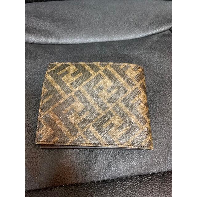 FENDI(フェンディ)のFENDI コインケース付き二つ折り財布 メンズのファッション小物(折り財布)の商品写真