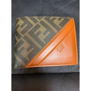 FENDI - FENDI コインケース付き二つ折り財布