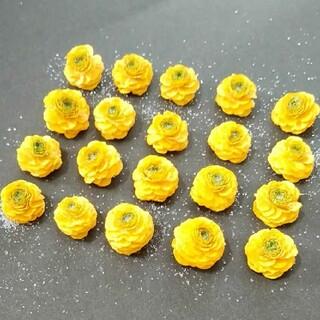 ラナンキュラスゴールドコイン ドライフラワー 花材22(ドライフラワー)