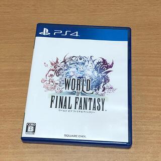 PlayStation4 - ワールド オブ ファイナルファンタジー PS4