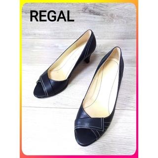 REGAL - 【REGAL レザー パンプス】リーガル 靴 レディース