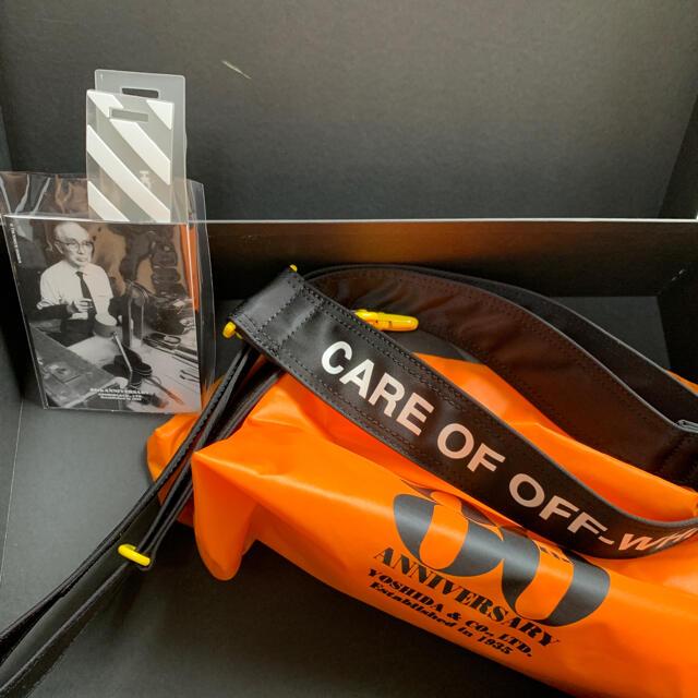 OFF-WHITE(オフホワイト)の吉田カバン porter off-white コラボバッグ ヴァージルアブロー メンズのバッグ(ショルダーバッグ)の商品写真
