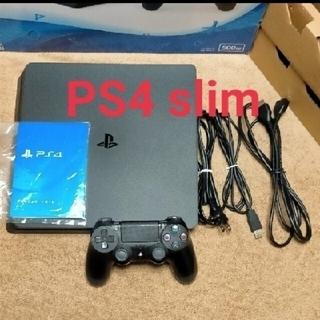 PlayStation4 - PS4 CUH-2100 B01 Jet Black 500GB