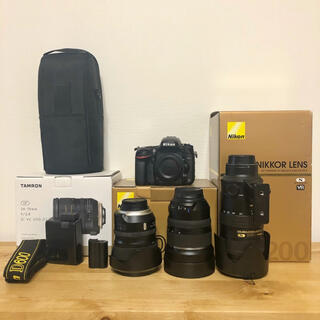 Nikon - Nikon D600 F2.8通しレンズ3本セット