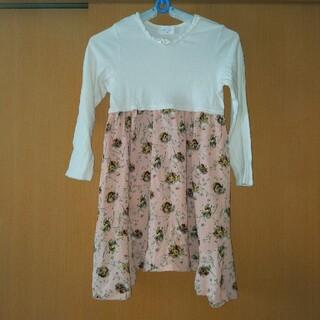 キッズ 子供服 ワンピース 130(ワンピース)