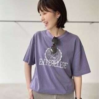 アパルトモンドゥーズィエムクラス(L'Appartement DEUXIEME CLASSE)のグッドロックスピードCollegeT-sh(Tシャツ(半袖/袖なし))