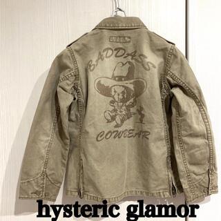 ヒステリックグラマー(HYSTERIC GLAMOUR)のヒステリックグラマー 120 デニムジャケット Gジャン(ジャケット/上着)