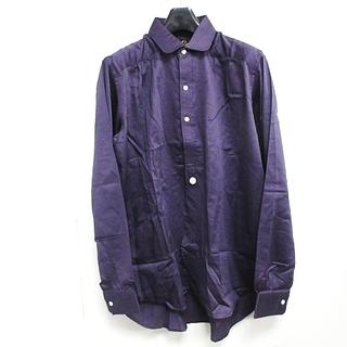 Needles - Needles 20SS 長袖 ラウンドカラーシャツ GL199 紫S