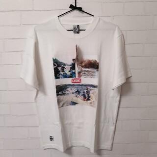 チャムス(CHUMS)の【新品】CHUMS LB River Photo Tee Lサイズ オフホワイト(Tシャツ/カットソー(半袖/袖なし))