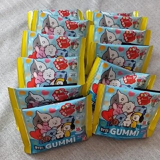 バンダイ(BANDAI)のBT21 グミ 12袋(菓子/デザート)
