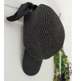 ザラ(ZARA)の週末価格❢ ZARA 麦わら帽子 キャップ 帽子(麦わら帽子/ストローハット)