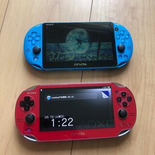プレイステーションヴィータ(PlayStation Vita)のPS VITA ビータ sony  vita(携帯用ゲーム機本体)