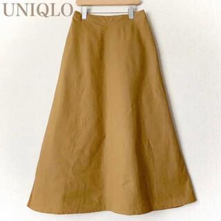 UNIQLO リネンコットンロングスカート M