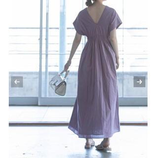 ノーブル(Noble)の【新品タグ付】《追加2》【MARIHA】 夏の光のドレス サイズ36(ロングワンピース/マキシワンピース)