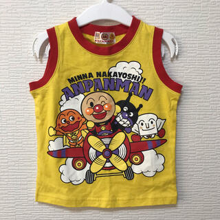 バンダイ(BANDAI)の未使用*タグ付き アンパンマン タンクトップ★90(Tシャツ/カットソー)