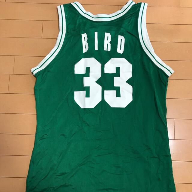 Champion(チャンピオン)のCELTICS 33 BIRD champion バスケットボール ユニホーム メンズのトップス(Tシャツ/カットソー(半袖/袖なし))の商品写真