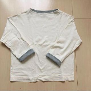 ユニクロ(UNIQLO)の【美品】UNIQLO カラーブロックハイネックT(Tシャツ(長袖/七分))