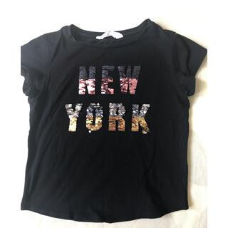 エイチアンドエム(H&M)のh&m スパンコール Tシャツ 割引(Tシャツ/カットソー)