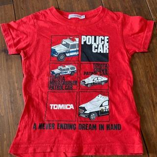 タカラトミー(Takara Tomy)のハッシュアッシュ トミカ Tシャツ2枚 100(Tシャツ/カットソー)