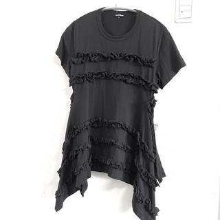 コムデギャルソン(COMME des GARCONS)のAD2020 トリココムデギャルソン フリルTシャツ(Tシャツ(半袖/袖なし))