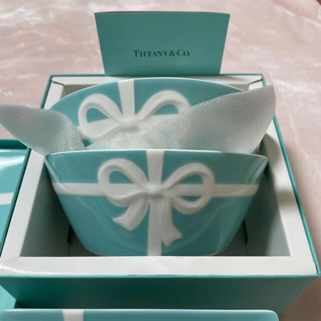 Tiffany & Co.(ティファニー)の新品未使用 ティファニー ボウボーンセット インテリア/住まい/日用品のキッチン/食器(食器)の商品写真