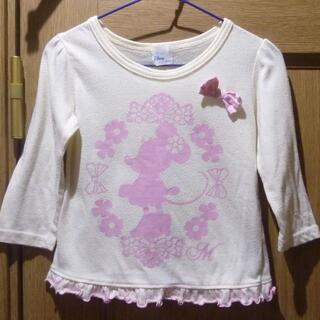 ニシマツヤ(西松屋)のディズニー ミニーちゃんのTシャツ サイズ90 [814](Tシャツ/カットソー)